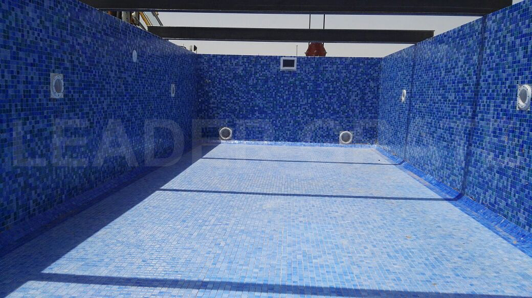GRP CERAMIC TILED SWIMMING POOL