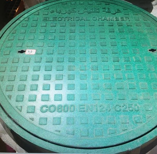 GRP manhole covers