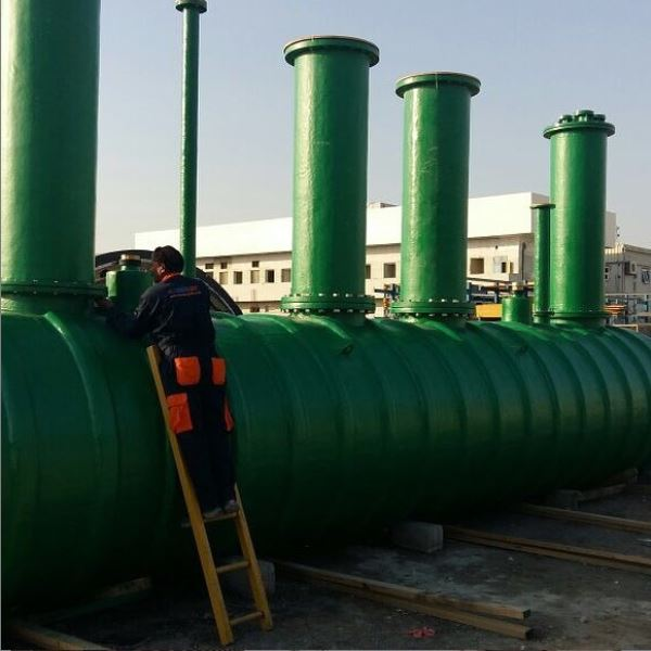 GRP oil water separator
