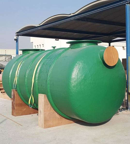 GRP grease separator