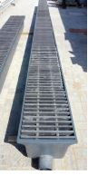 GRP traffic drainage grating