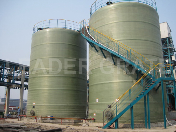 GRP CHEMICAL STORAGETANK
