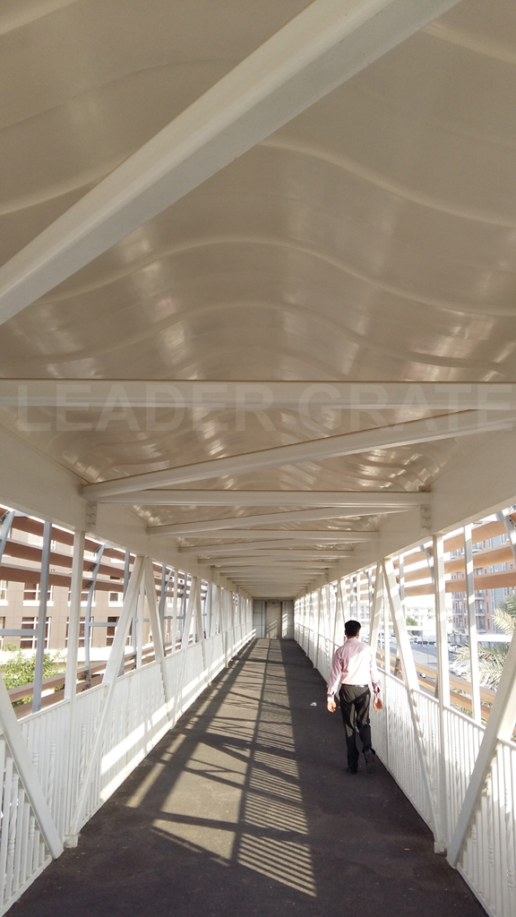 GRP SHED FOR PEDESTRIAN BRIDGES